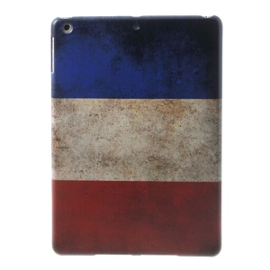 France National Flag Pattern Hard Shell Case for iPad Air 5