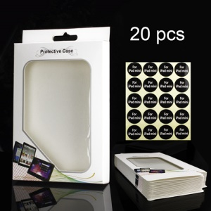 20PCS/Lot Protective Packing Packaging Box + Label for iPad Mini Cases