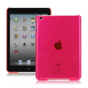 Smooth Clear Crystal Case Cover for iPad Mini - Translucent Rose