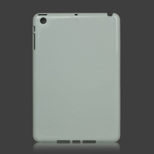 Slim Clear Crystal Case Cover for iPad Mini - White