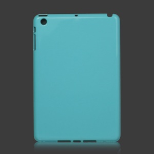 Slim Clear Crystal Case Cover for iPad Mini - Blue
