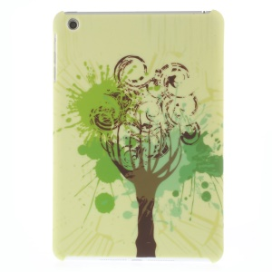 Matte Hard Protective Case for iPad mini - Tree Painting