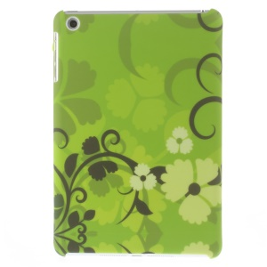 Matte Hard PC Skin Case for iPad mini - Elegant Flower