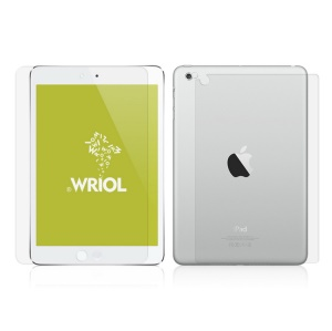 Wriol Q Series for iPad Mini Crystal Clear Anti-scratch Guard Film Suite Edition w/ Back Film & Camera Film