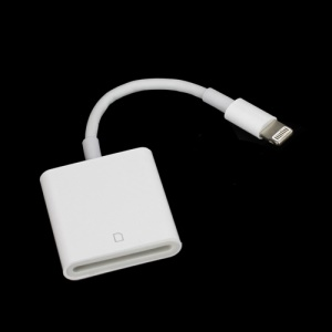 8 Pin Lightning to SD Card Camera Reader for iPad 4 iPad Mini