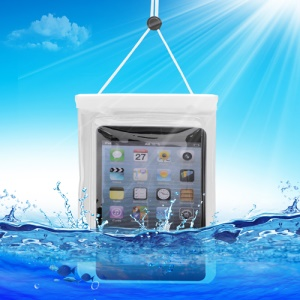 WaterGuard Waterproof Protective Bag Case for Apple iPad Mini (Size: 220x160mm) - Transparent