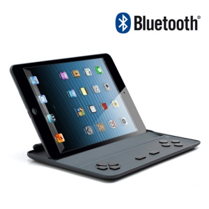 Smart Wireless Bluetooth iCade Gamepad Gaming Controller Case Stand for iPad Mini