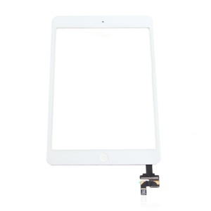 Digitizer Touch Screen Assembly with IC Connector for iPad Mini OEM - White