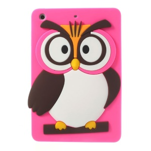 Rose for iPad Mini 2 / iPad Mini Cute 3D Owl Soft Silicone Cover