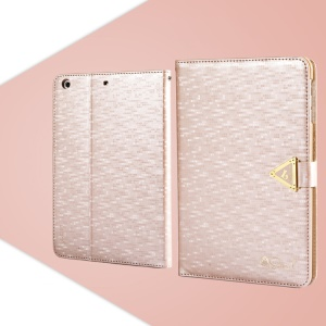 Pink Leiers Eternal Series Magnetic Leather Cover for iPad Mini / Mini 2 Retina w/ Card Slot & Stand