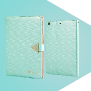 Baby Blue Leiers Eternal Series for iPad Mini / Mini 2 Retina Flip Leather Cover w/ Card Slot & Stand