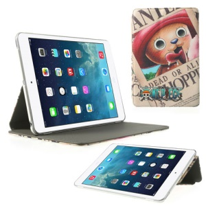 For iPad Mini 2 (Retina) / iPad Mini Chopper Man Cross Grain Leather Cover Stand