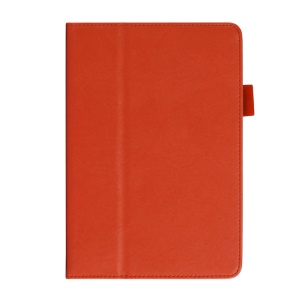 Cowhide Texture for iPad Mini / Mini 2 Leather Smart Stand Cover w/ Handheld Belt - Orange