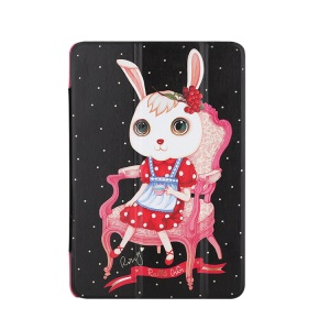 8thdays Rabbit GIGI II Stand Leather Smart Cover for iPad Mini / iPad Mini 2 - Succulent
