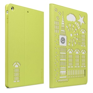 USAMS Tower Series Smart Leather Stand Cover for iPad Mini / iPad Mini 2 Retina Display - Green