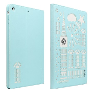 USAMS Tower Series Smart Leather Case w/ Stand for iPad Mini / iPad Mini 2 Retina Display - Baby Blue