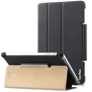 Takefans Easy New Series Smart Leather Case w/ Adjustable Stand for iPad Mini 2 / iPad Mini - Black
