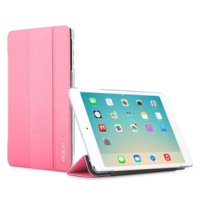 Rose ROCK Colorful Series for iPad Mini 2 / iPad Mini Smart Wake up / Sleep Tri-fold Leather Cover