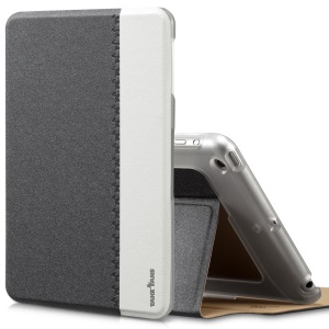 Black TakeFans Marshon Series Smart Wake up / Sleep Leather Stand Case for iPad Mini 2 Retina / iPad Mini