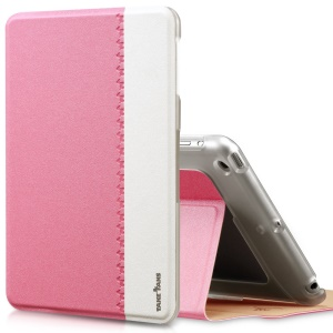 Pink TakeFans Marshon Series Smart Wake up / Sleep Leather Stand Case for iPad Mini 2 Retina / iPad Mini