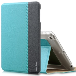 Blue TakeFans Marshon Series for iPad Mini 2 Retina / iPad Mini Smart Wake up / Sleep Leather Cover