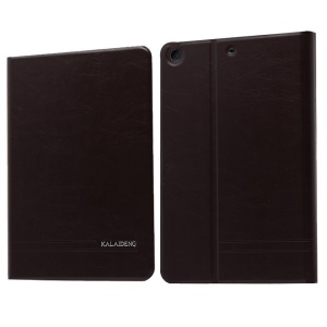 Dark Grey KLD KA Series for iPad Mini 2 / iPad Mini Auto Wake / Sleep Leather Case w/ Card Slots & Stand