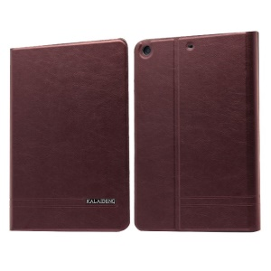 Wine Red KLD KA Series Smart Wake / Sleep Leather Stand Case for iPad Mini 2 / iPad Mini