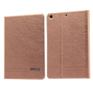 Coffee KLD KA Series Smart Wake / Sleep Leather Wallet Cover for iPad Mini 2 / iPad Mini