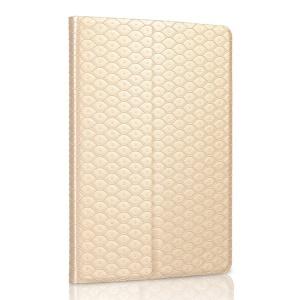 Champagne Gold ZHUDIAO Mermaid Series for iPad Mini 2 Retina / iPad Mini Smart Card Slots Leather Case w/ Stand