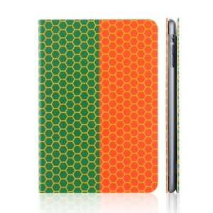 TOTU World Cup Series Football Grain Flag of Portugal Smart Leather Stand Case for iPad Mini 2 / iPad Mini