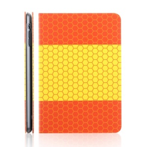 TOTU World Cup Series Football Grain Flag of Spain Smart Leather Stand Case for iPad Mini 2 / iPad Mini