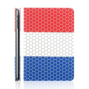 TOTU World Cup Series for iPad Mini 2 / iPad Mini Football Grain Dutch Flag Smart Leather Cover w/ Stand