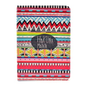 Tribal Tribe Hakuna Matata Smart Leather Stand Case for iPad mini 2 / iPad mini