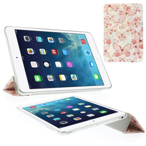 Multiple Dragonflies Tri-fold Smart Leather Stand Case for iPad Mini 2 with Retina display / iPad mini