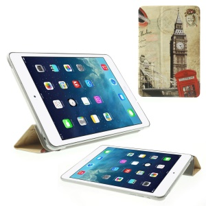London Big Ben & Telephone Box Folio Smart Leather Stand Cover for iPad mini 2 / iPad mini