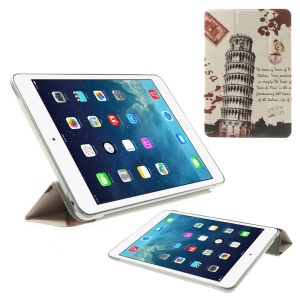 The Leaning Tower of Pisa Folio Stand Smart Leather Case for iPad mini 2 / iPad mini