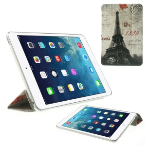 Paris 1889 Eiffel Tower for iPad mini 2 with Retina display / iPad mini Stand PU Leather Smart Case