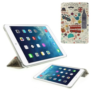 England London Elements for iPad mini 2 with Retina display / iPad mini Folio Stand Leather Smart Cover