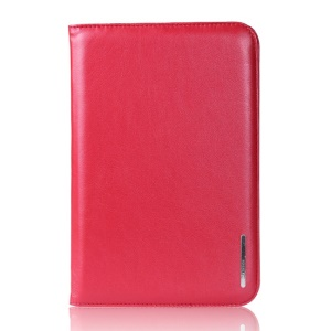 Red Remax Super Thin Series Smart Leather Stand Case for iPad Mini / iPad Mini 2 Retina Display