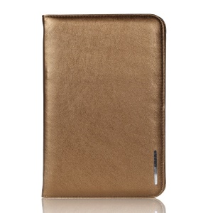 Gold Remax Super Thin Series Smart Leather Stand Cover for iPad Mini / iPad Mini 2 Retina Display