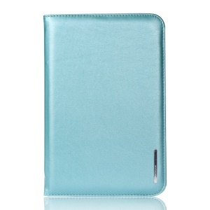 Blue Remax Super Thin Series Leather Smart Cover w/ Stand for iPad Mini / iPad Mini 2 Retina Display