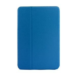 Blue Oracle Grain Smart Leather Protective Case w/ Inner Rotating Stand for iPad Mini / iPad Mini 2 Retina Display