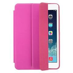 Tri-fold PU Leather Smart Case for iPad Mini / iPad Mini 2 Retina w/ Stand - Rose