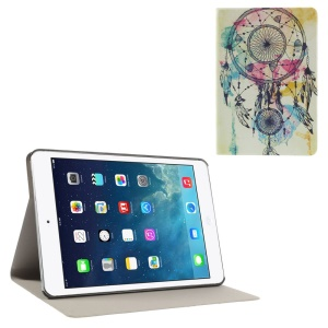 Dreamcatcher Mesh Pattern Folio Leather Stand Case for iPad Mini / iPad Mini Retina