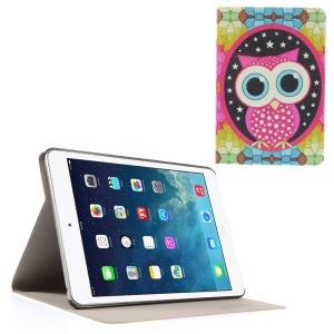 Owl & Stars Folio Leather Stand Case Shell for iPad Mini / iPad Mini Retina