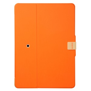 Orange for iPad mini 2 (Retina) / iPad mini BASEUS Carta Smart Brushed Leather Cover Stand