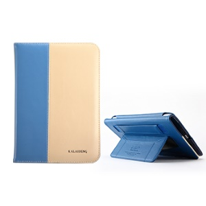 KLD Tao Series Fashion Smart Leather Stand Cover for iPad Mini / iPad Mini 2 - Baby Blue