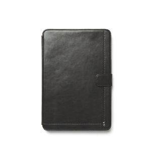 Zenus Neo Classic Diary Smart Leather Case for iPad Mini / iPad Mini 2 - Dark Grey
