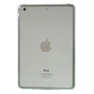 Crystal Clear Acrylic + TPU Hybrid Cover for iPad mini 2 (Retina) / iPad mini - Grey