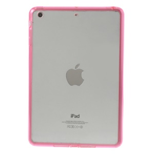 Crystal Clear Acrylic + TPU Hybrid Back Case for iPad mini 2 (Retina) / iPad mini - Rose